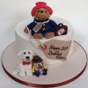 Paddington Bear - Birthday Cake