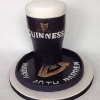 Darren - Pint of  Guinness Birthday Cake