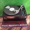 Jackie - Record Deck Birthday Cake