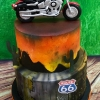 Thunder Road Cafe is 21!!! - Route 66 Birthday Cake