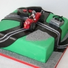 Scalectrix or is it Scalextric?  Birthday Cake