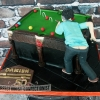 Damien - Snooker Birthday Cake