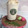 Aoife - Starbucks birthday cake