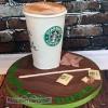 Stephanie - Chai Tea Latte Starbucks Birthday Cake