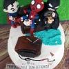 Damian - Superheroes (and Gilmore Girls) Birthday Cake