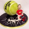 Darren - Tennis Ball Birthday Cake