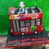 Brian Thomas - Open Top Bus Birthday Cake
