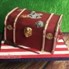 Cian - Harry Potter Trunk Birthday Cake