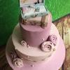 Ciara - Vintage 21st Birthday Cake