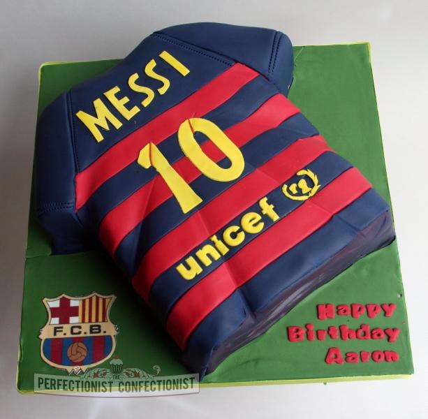 Messi Cake Images