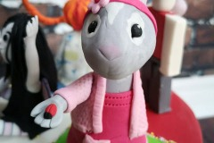 Maya - :Lily Peter Rabbit Birthday Cake