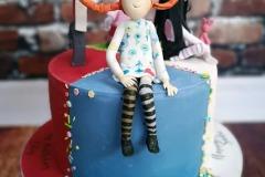 Louisa - Pippi Longstocking Birthday Cake