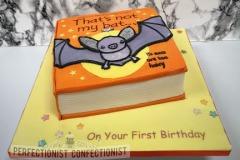 Ruth - That's not my bat!  Birthday Cake