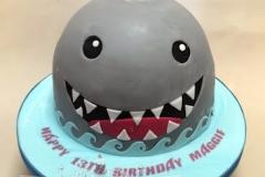 Maggie - Baby Shark Birthday Cake
