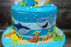 Danny - Baby shark Birthday Cake