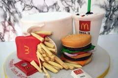 Lucy - McDonalds Birthday Cake