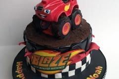 Noah - Blaze and the Monster Machines Birthday Cake
