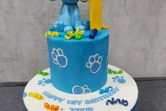 Ted - Blues Clues Birthday Cake