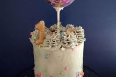 Kate - Buttercream first birthday cake
