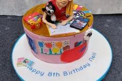 Nell - Artist Birthday Cake