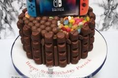 Patrick - Chocolate Sweets Birthday Cake
