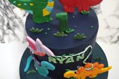 Ryan - Dinosaur First Birthday Cake