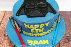 Bram - Star Wars Birthday Cake