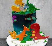 Louis - Dnosaurs Birthday Cake
