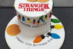Eva - Stranger Things Birthday Cake