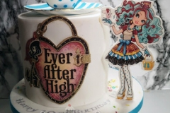 Lea - Ever After High Birthday Cake