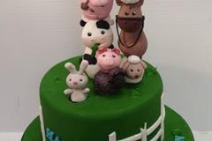 Nathan - Farmyard birthday cake
