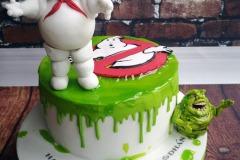 Aodhan - Ghostbusters Birthday Cake