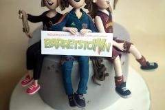 Girl Power -- Barretstown Fund Raiser Cake