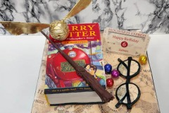 James - Harry Potter Book Birthday Cake