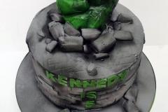 Kennedy  - Incredible Hulk Birthday Cake