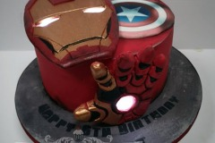 Robert - Ironman Birthday Cake
