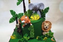 Lisa - Jungle Birthday Cake