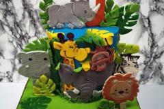 Audrey - Jungle Birthday Cake