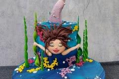 Adrianna - Mermaid Birthday Cake