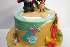 Ashish - Moana Birthday Cake