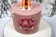 Una - Skye Paw Patrol Birthday Cake