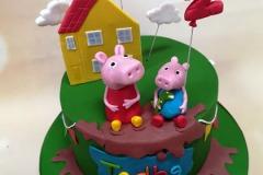 Tadhg - Peppa Pig Birthday Cake