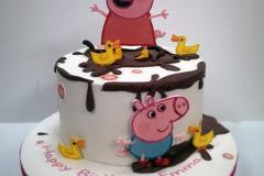 Emma - Peppa Pig Birthday Cake