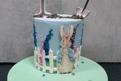 Patrick - Peter Rabbit First Birthday Cake