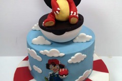Adam - Charmeleon / Pokemon Birthday Cake