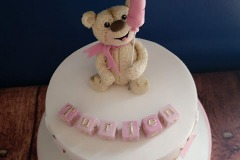 Turien - Bear and Balloon First Birthday Cake