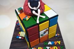 Harry - Rubiks Cube Birthday Cake