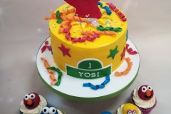 Yosi - Elmo Birthday Cake