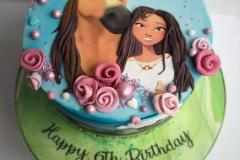 Ellen - Spirit Riding Free Birthday Cake