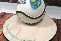 Pierce - Sliotar Birthday Cake